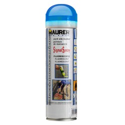 Spray Pintura Trazador Azul Fluorescente 500 ml.